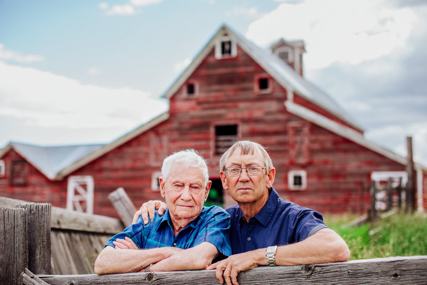 A barn near Great Falls Montana to showcase the generations of this family. Photography fulfilling its purpose.