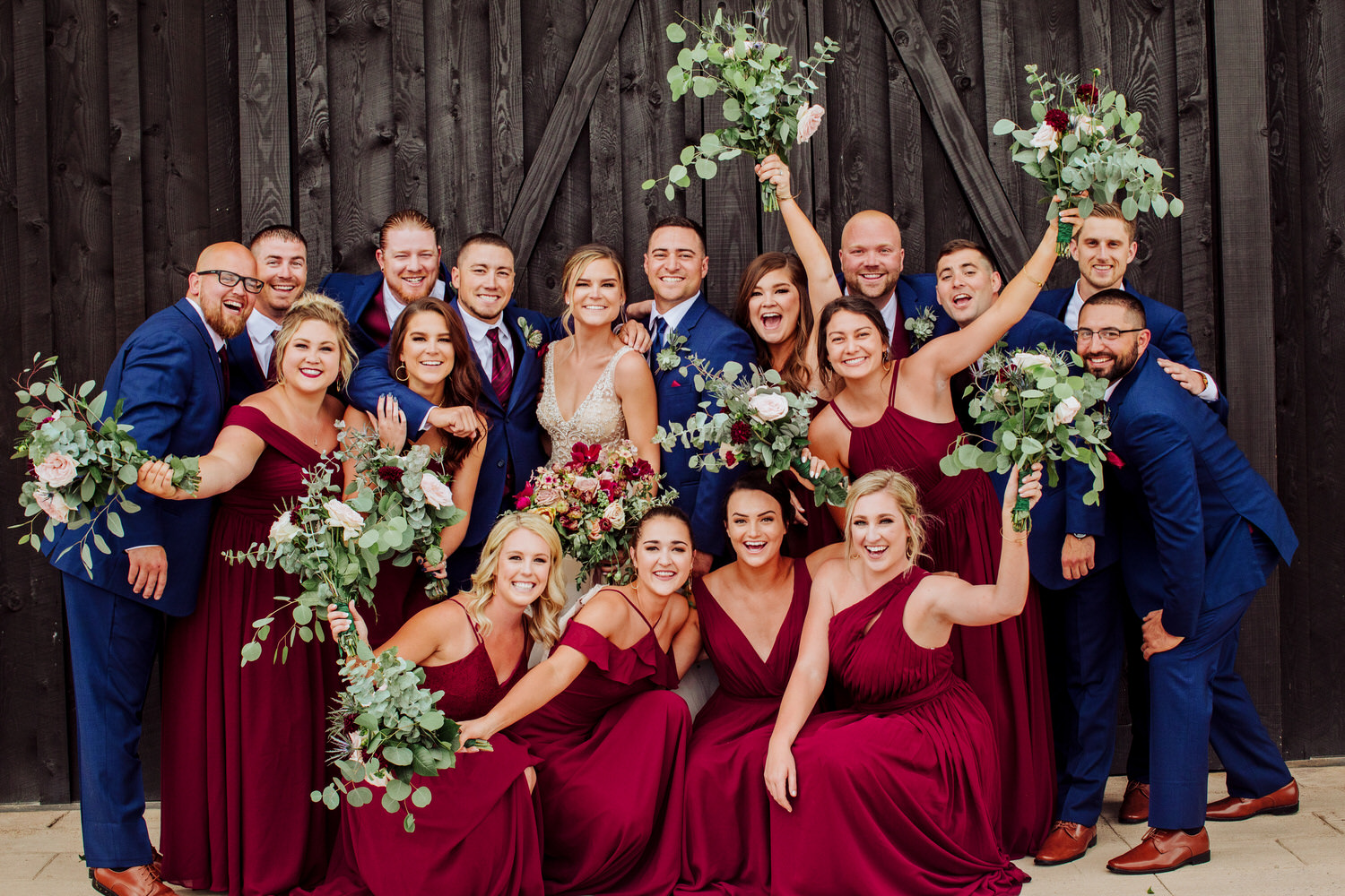 The Koon wedding took place in Bozeman Montana. A party this fun made it that much easier to photograph