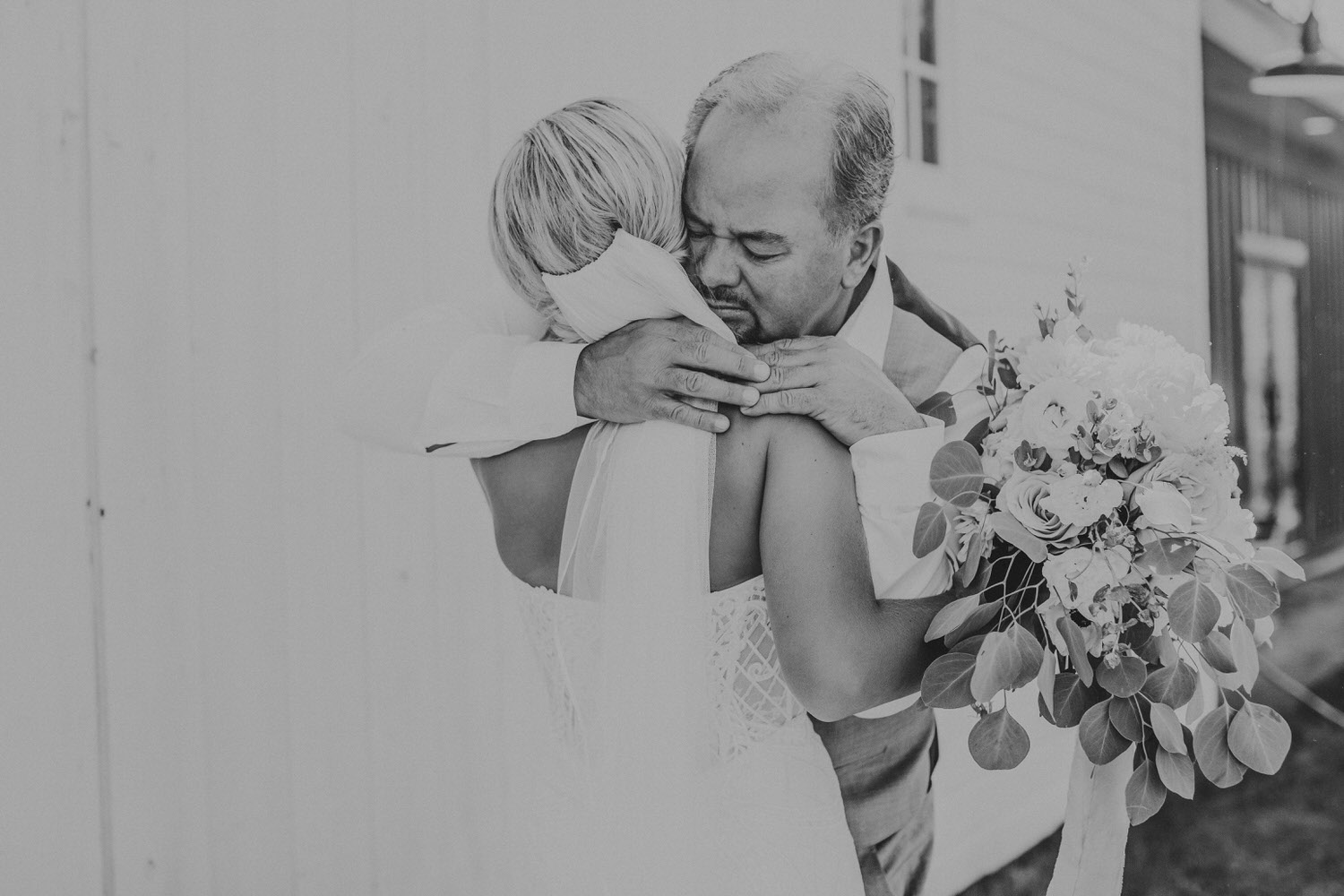 The Romigs were one of the easiest weddings in Bozeman Montana I've photographed. Their day was full of moments like these between her and her father.