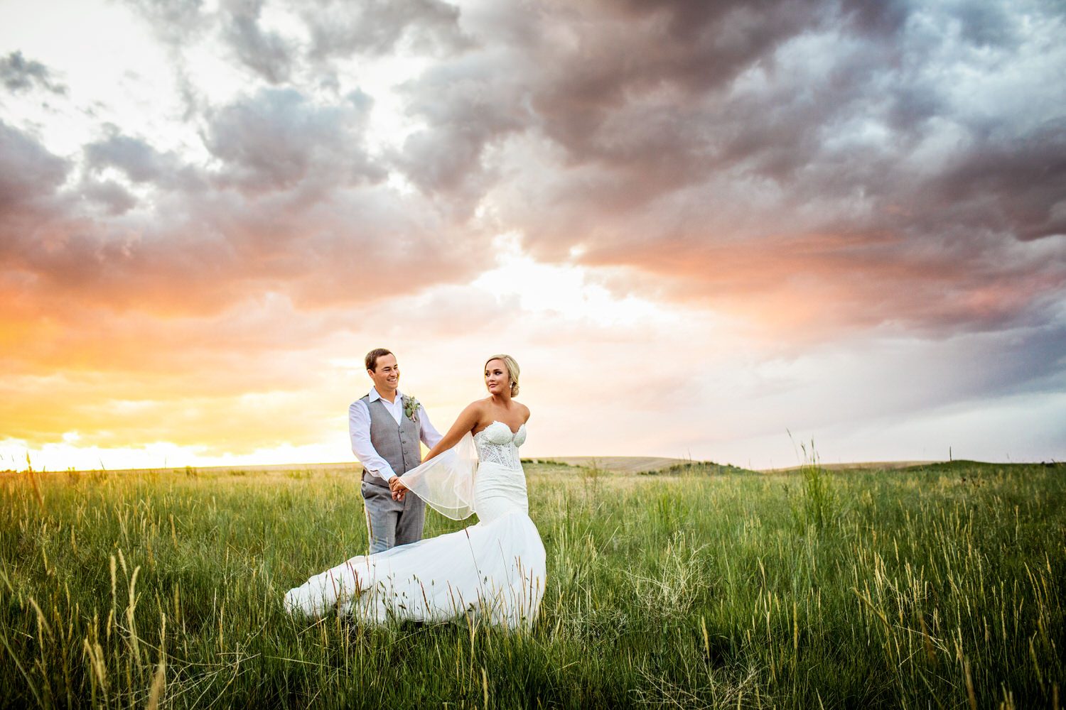 Mitch and Mccall was one of the easiest weddings I've photographed in Bozeman Montana. The Romigs showcased each landscape Montana has to offer.