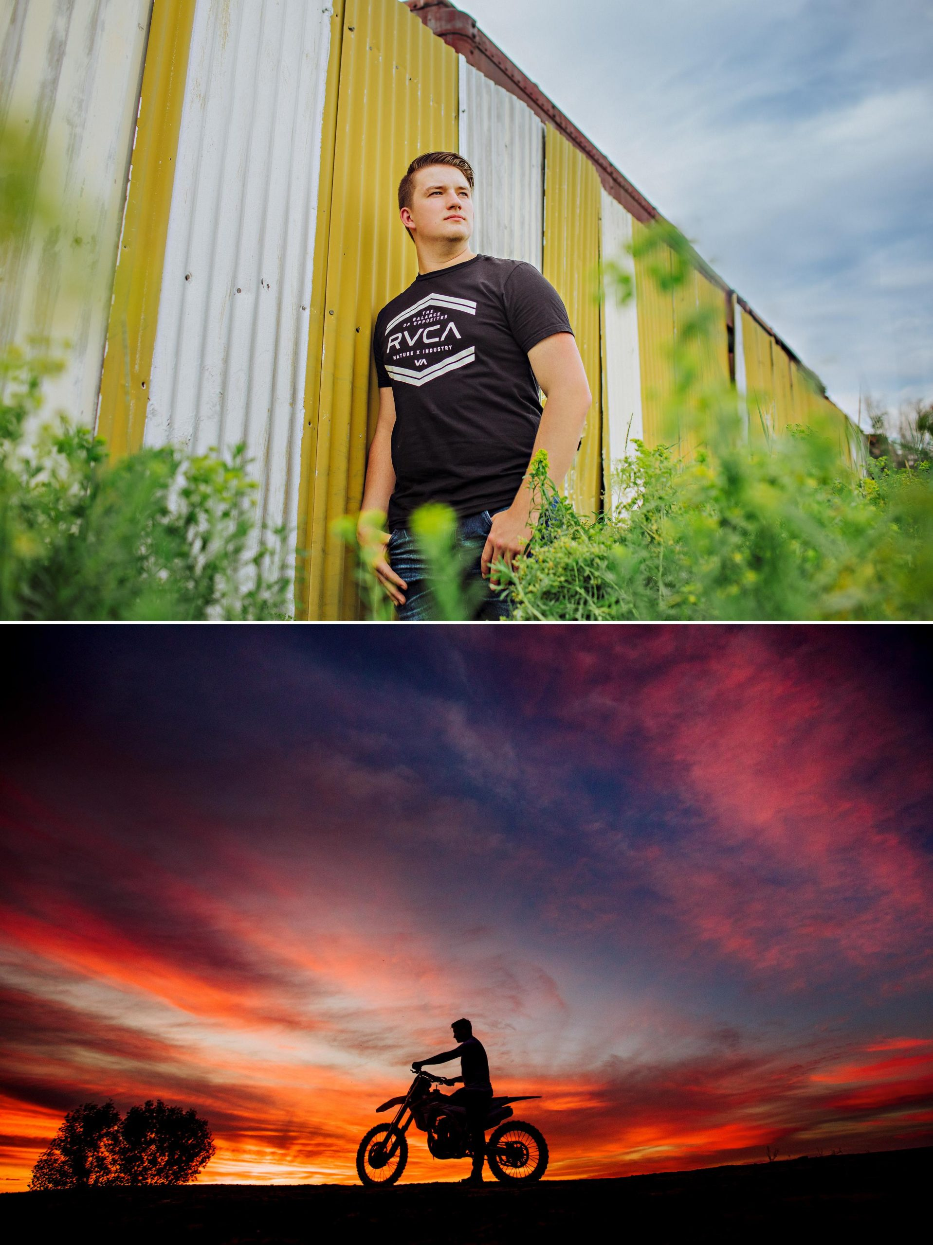 Picture of a senior boy in great falls Montana