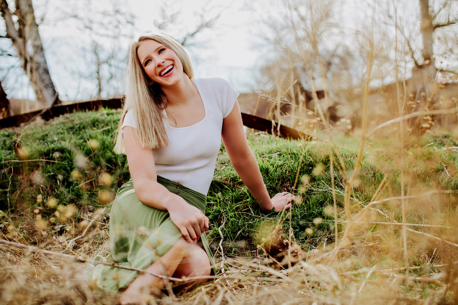 Senior pictures of Allie in Great Falls Montana
