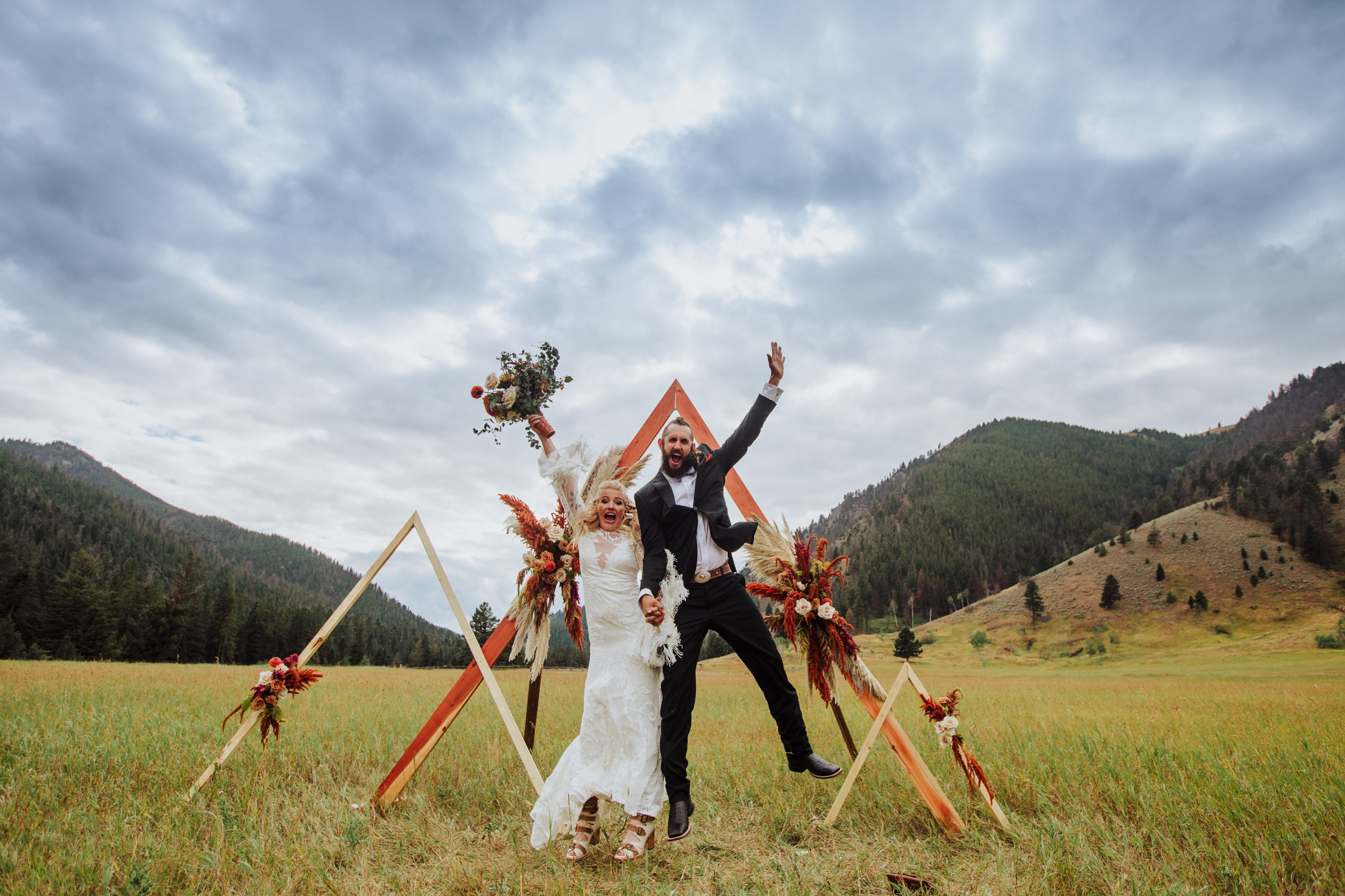 BIG SKY MONTANA WEDDING | ADRI & MATT